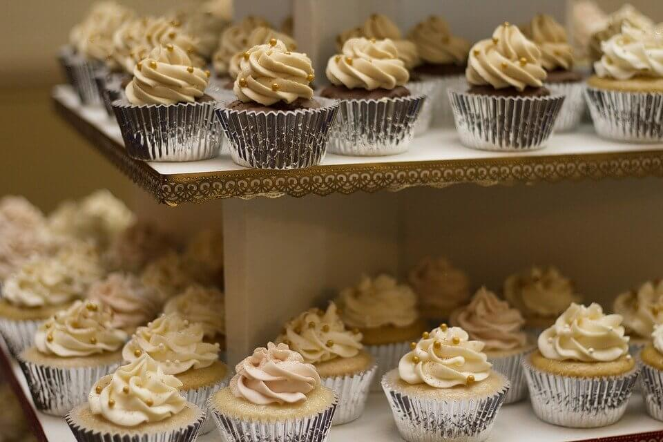 many cupcakes lined up on two sheets   Fun Birthday Party Ideas for Women in Orlando
